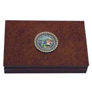 State-Seal-Burlwood-Box