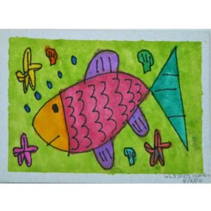 Colorful-Fish-Painting