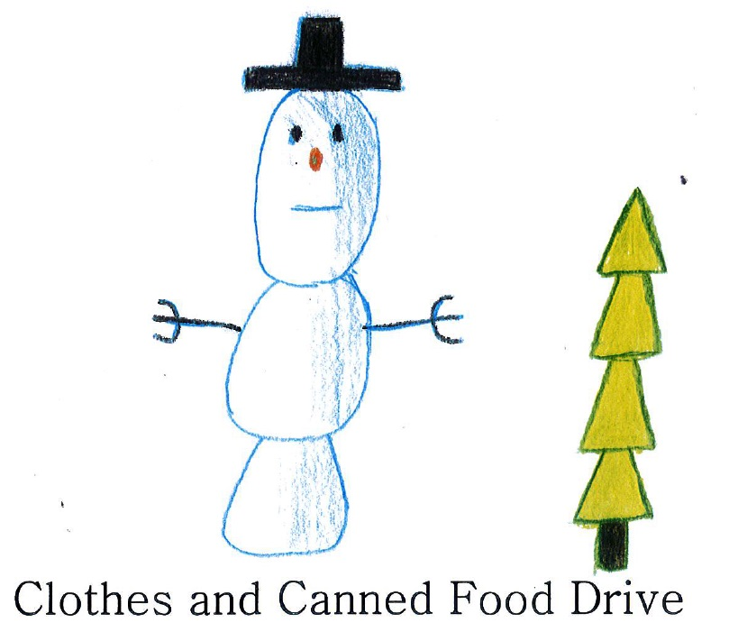 SCN Clothes & Canned Food Drive