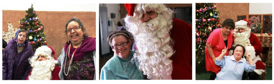 SCS Santa Collage