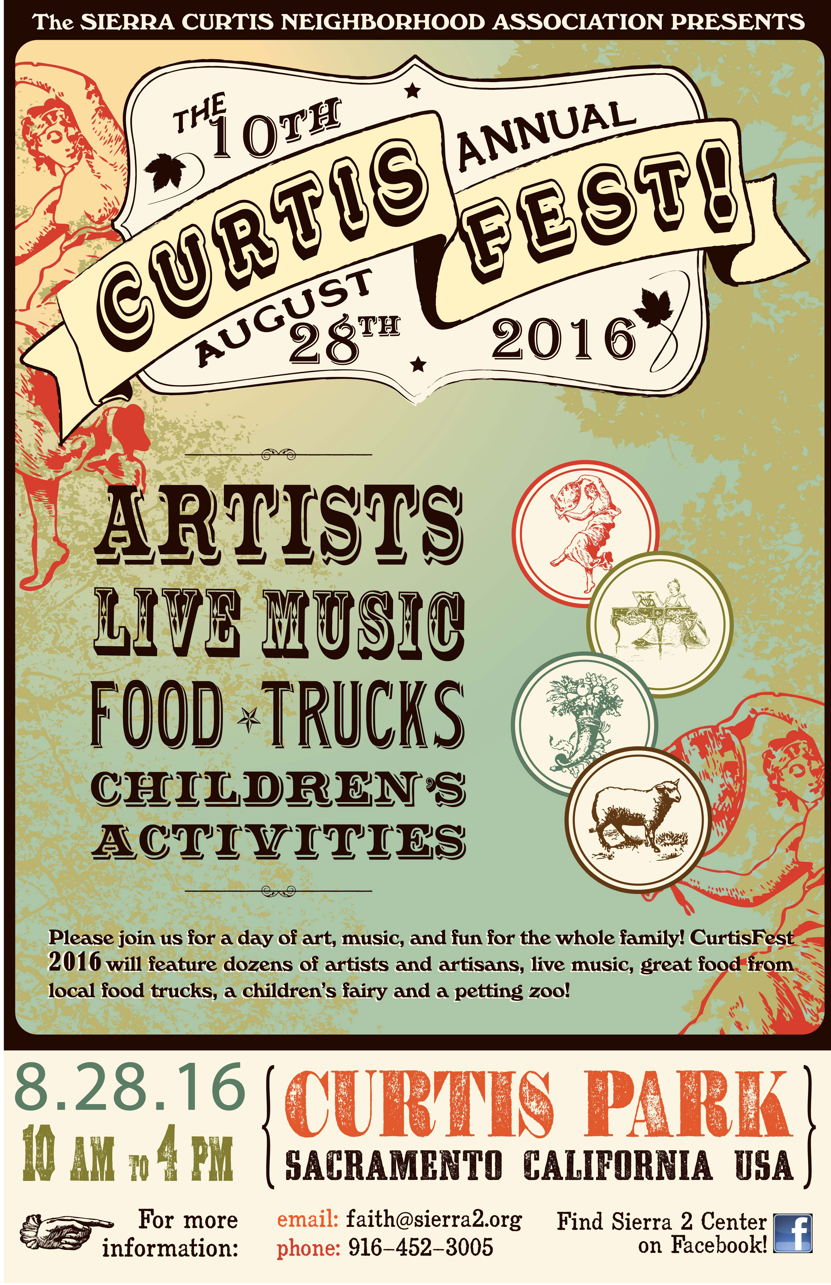 CurtisFest poster 6.15.14