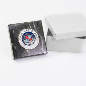 assembly seal paper weight