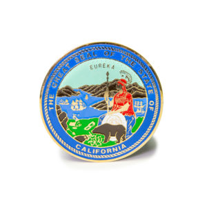 Great Seal of California Medallion