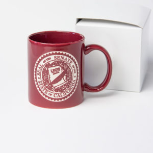 Senate Seal etched mug