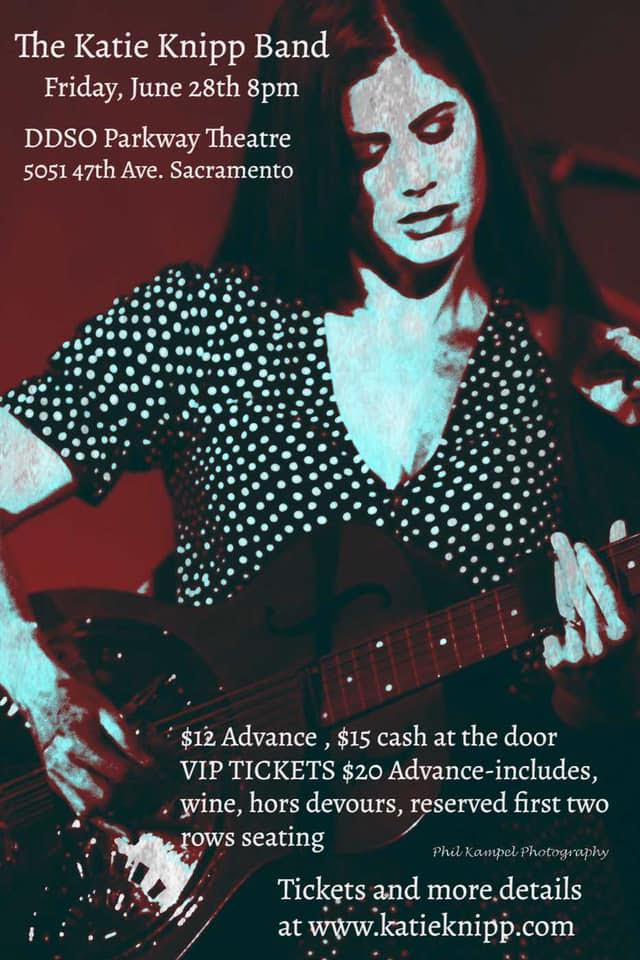 Katie Knipp Band concert brochure